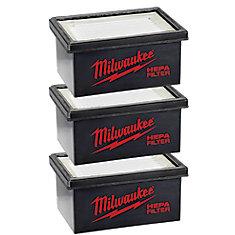 Remplacement du filtre HAMMERVAC  pour le modèle 0850-20 (lot de 3)