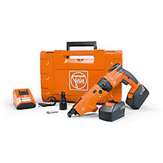 ASCT18M SET Compact Cordless Screw Gun 18V with 2.5Ah batteries and charger