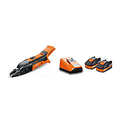 FEIN ABSS18 1.6E SET Cordless 18V Slitting Shears 16 ga. 1/16 inch with 2,5Ah Batteries and Chargeri