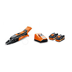ABSS18 1.6E SET Cordless 18V Slitting Shears 16 ga. 1/16 inch with 2,5Ah Batteries and Chargeri
