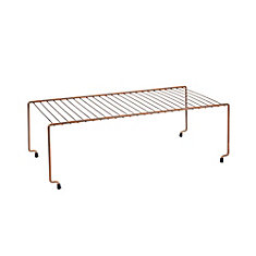 Brooklyn Copper Space Saver Stackable Shelf