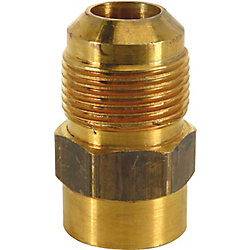 BrassCraft Gas Fitting 5/8-inch O.D. Male Flare x 1/2-inch FIP