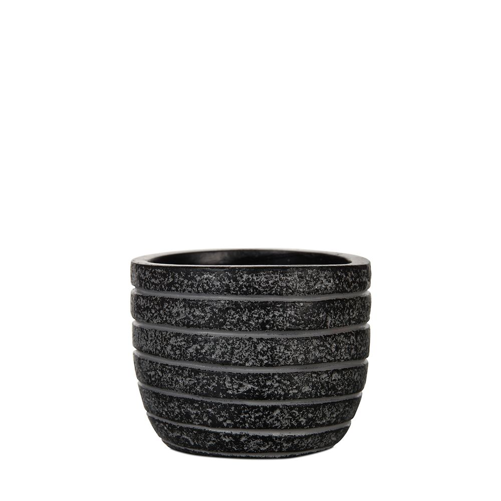 Home Decorators Collection Egg planter row III 5.5x5.5x5.1 inch black