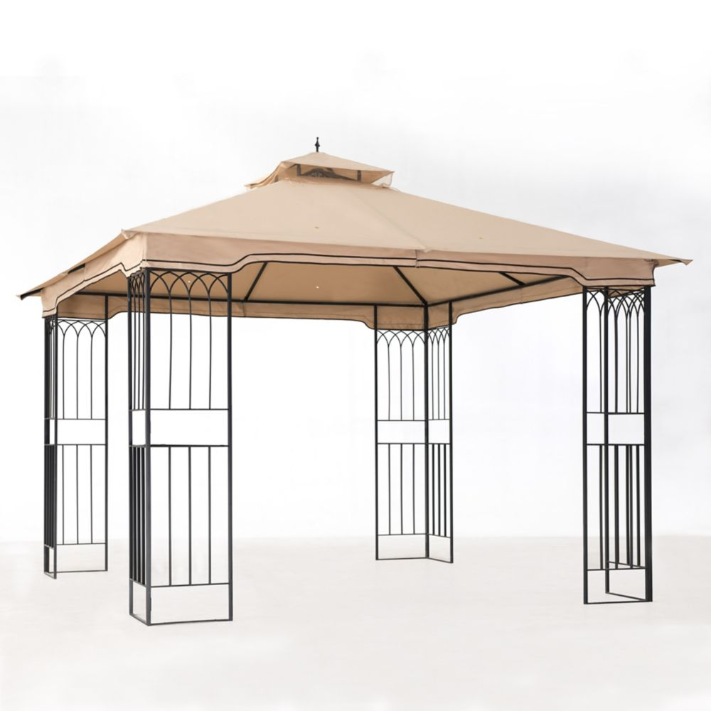 Sunjoy Fence 10x10 AIM Gazebo