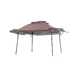 Sunjoy 16 ft. x 16 ft. Pop Up Gazebo With Extension Roof