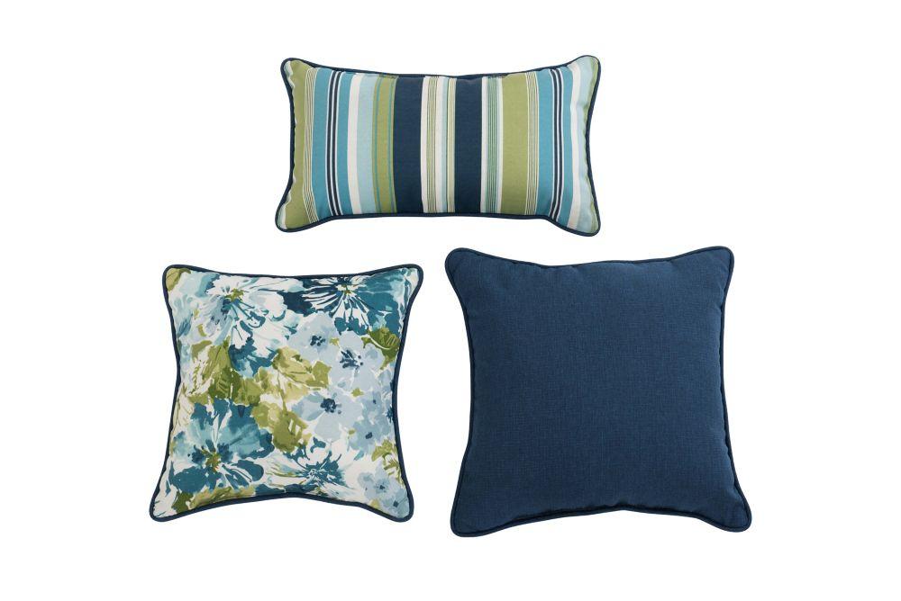 Sunjoy Summer Garden Mallard Pillow Set