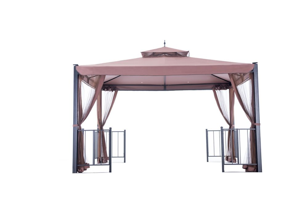 Sunjoy Biscayne 12x10 Soft Top Gazebo