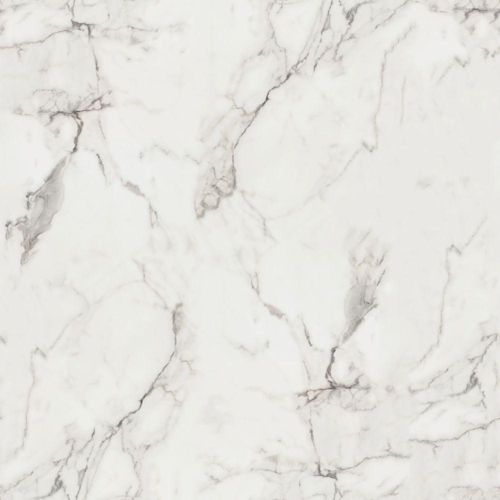 Prix Feuille Stratifié Formica 180fx marbre calacatta feuille de stratifié 96 po x 48 po en fini lustré