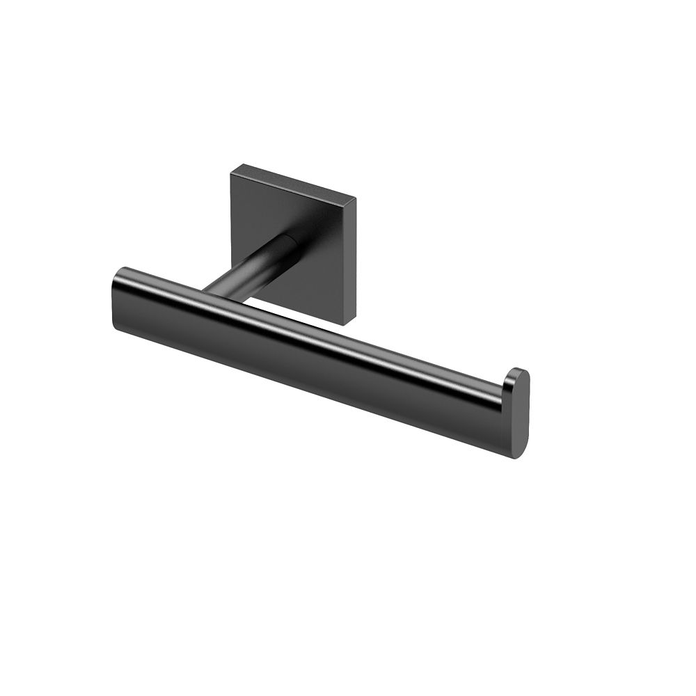 Gatco Elevate Euro Toilet Paper Holder Matte Black