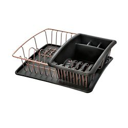 Metaltex Aquatex Plus Copper Dish Drainer