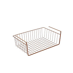 Metaltex Kanguro 40 Copper Multipurpose Under Shelf Basket