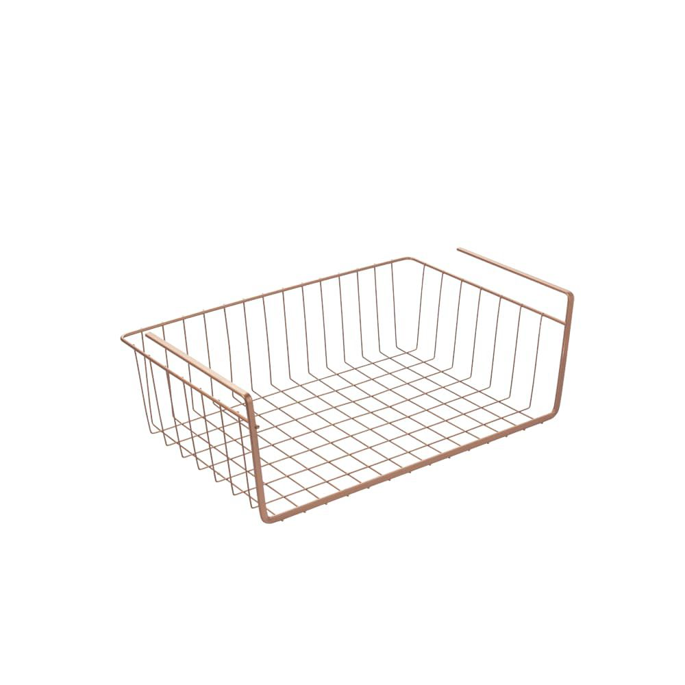 Metaltex Kanguro 40 Copper Multipurpose Undershelf Basket