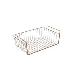 Metaltex Kanguro 40 Copper Multipurpose Under Shelf Basket