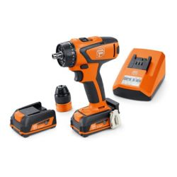 FEIN ASCM12QC BASIC SET Cordless Drill/driver 12V 4-speed