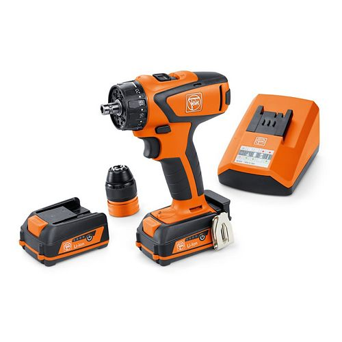FEIN ASCM12QC BASIC SET Cordless Drill/driver 12V 4-speed