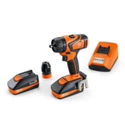 FEIN ABS18QC BASIC SET Cordless Drill-driver 18V 2.5Ah 2-speed