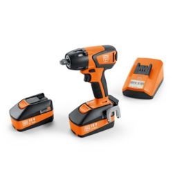 FEIN ASCD18-300W2 BASIC SET Cordless Impact Wrench 18V 5Ah 1/2 inch square drive