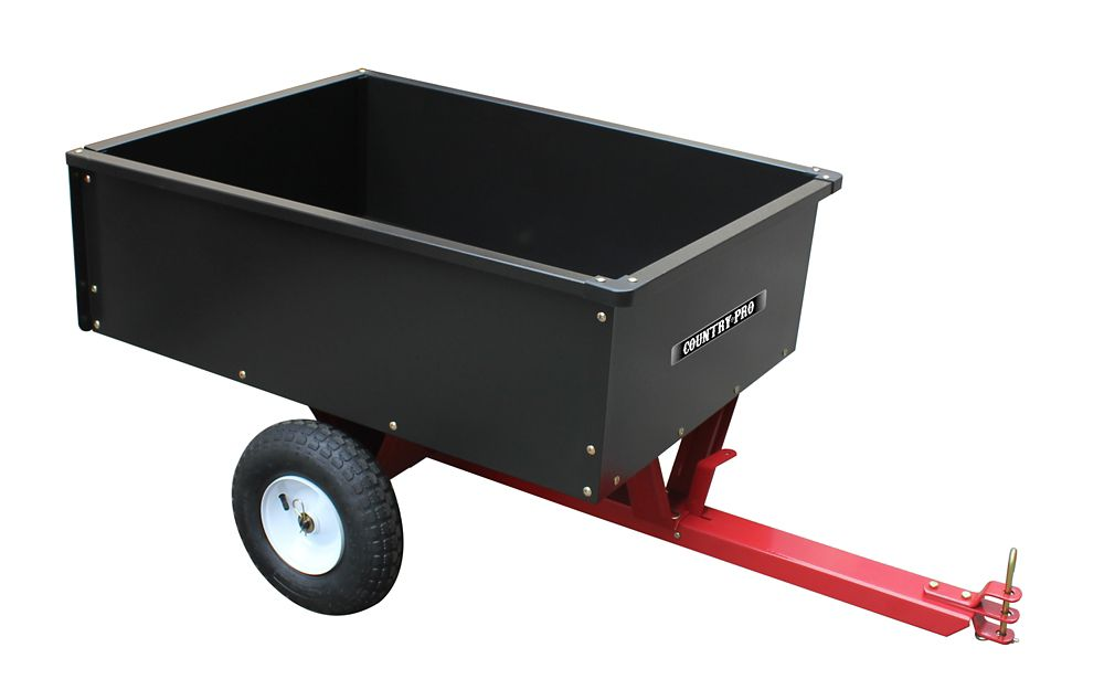 COUNTRY PRO 10 cu. ft. /400 Lb Tow Behind Dump Cart