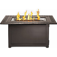 Patioflame Rectangular Victorian Outdoor Fire Table