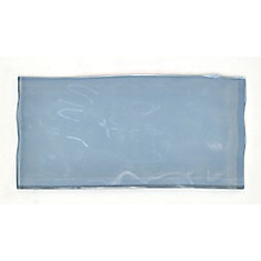 Artisan Blue 3-inch x 6-inch Glass Tile (8.23 sq. ft. / case)