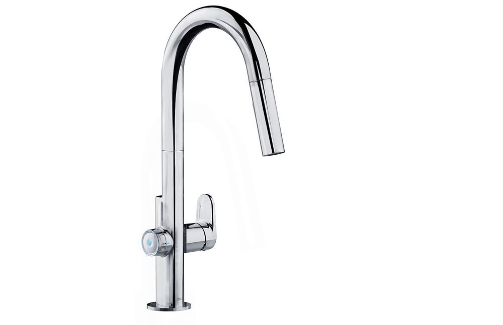 American Standard Beale MeasureFill  Touch Single-Handle Pull-Down Sprayer Kitchen Faucet in Chrome