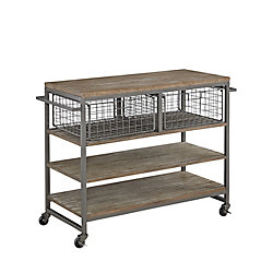 Home Styles Barnside Metro Kitchen Cart