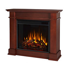 Devin Electric Fireplace in Dark Espresso