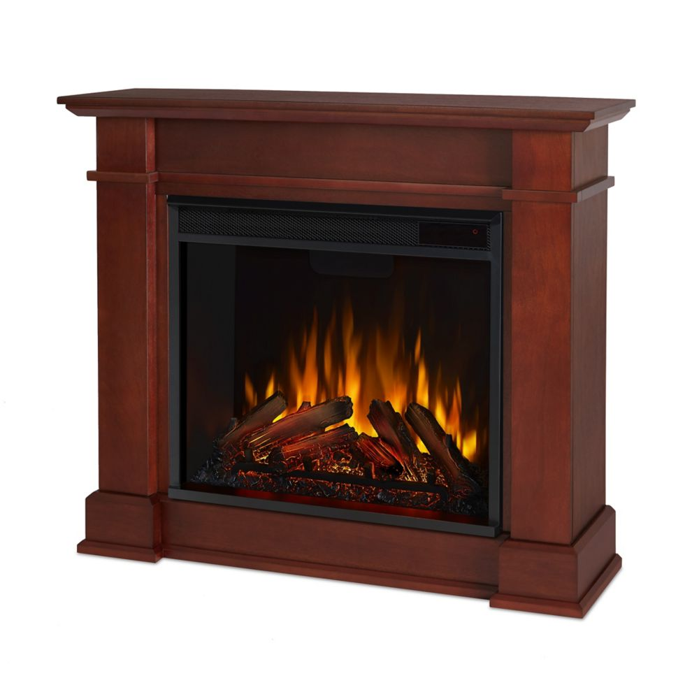 Real Flame Devin Electric Fireplace in Dark Espresso