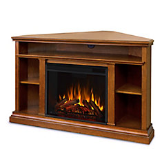 Churchill Electric Fireplace in Oak