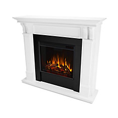 Ashley Electric Fireplace Mantel in White