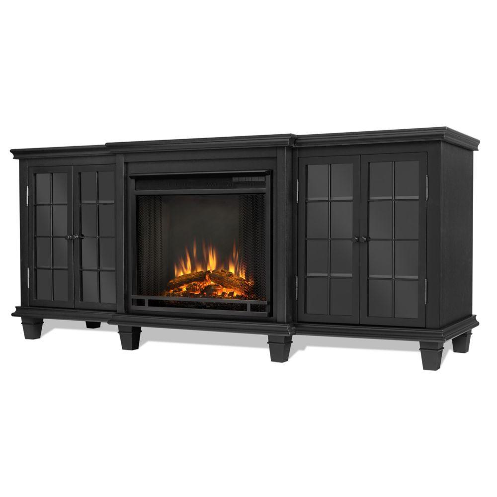 Home Hardware Foyer électrique : Real flame foyer électrique marlowe couleur noire home