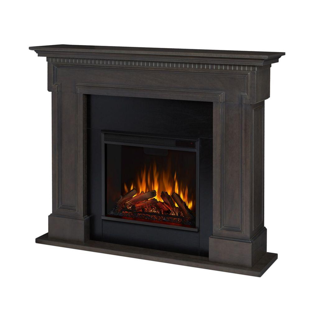 Foyer Electrique Modern Flames : Real flame foyer électrique thayer couleur grise home
