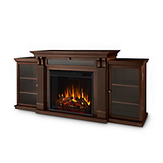 Calie Entertainment Electric Fireplace in Dark Espresso