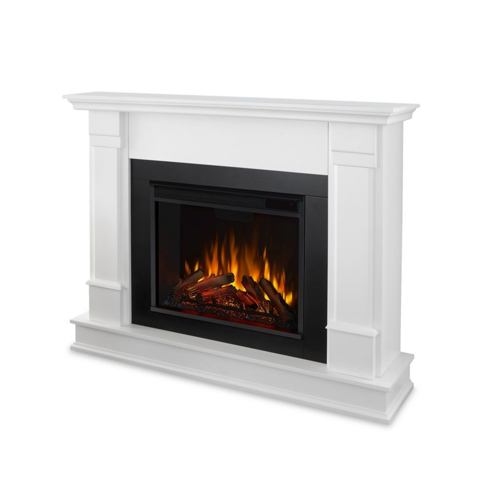 real flame silverton electric fireplace in white the home depot canada rh homedepot ca silverton electric fireplace canada silverton electric fireplace canada