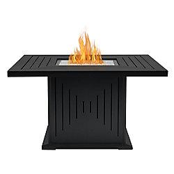 Real Flame Braséro Cavalier avec trousse de conversion pour gaz naturel