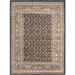 ECARPETGALLERY Medallion Navy 5 ft. 6-inch x 7 ft. 5-inch Indoor Area Rug