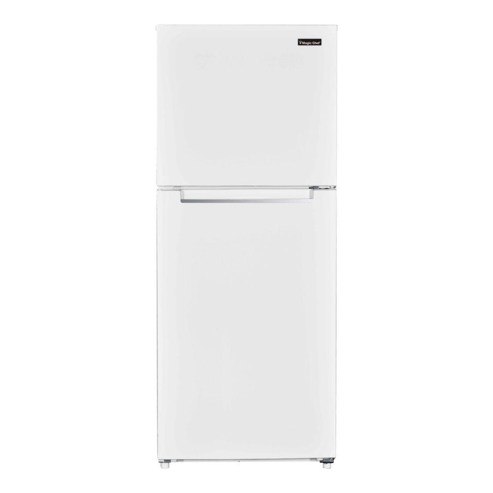 Magic Chef 10.1CF Top Mount Refrigerator White