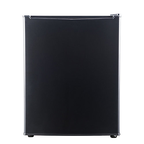 2.7 cu ft Compact Refrigerator, Black