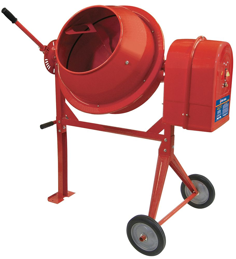 King Canada 3.5 Cu. ft. Portable Cement Mixer