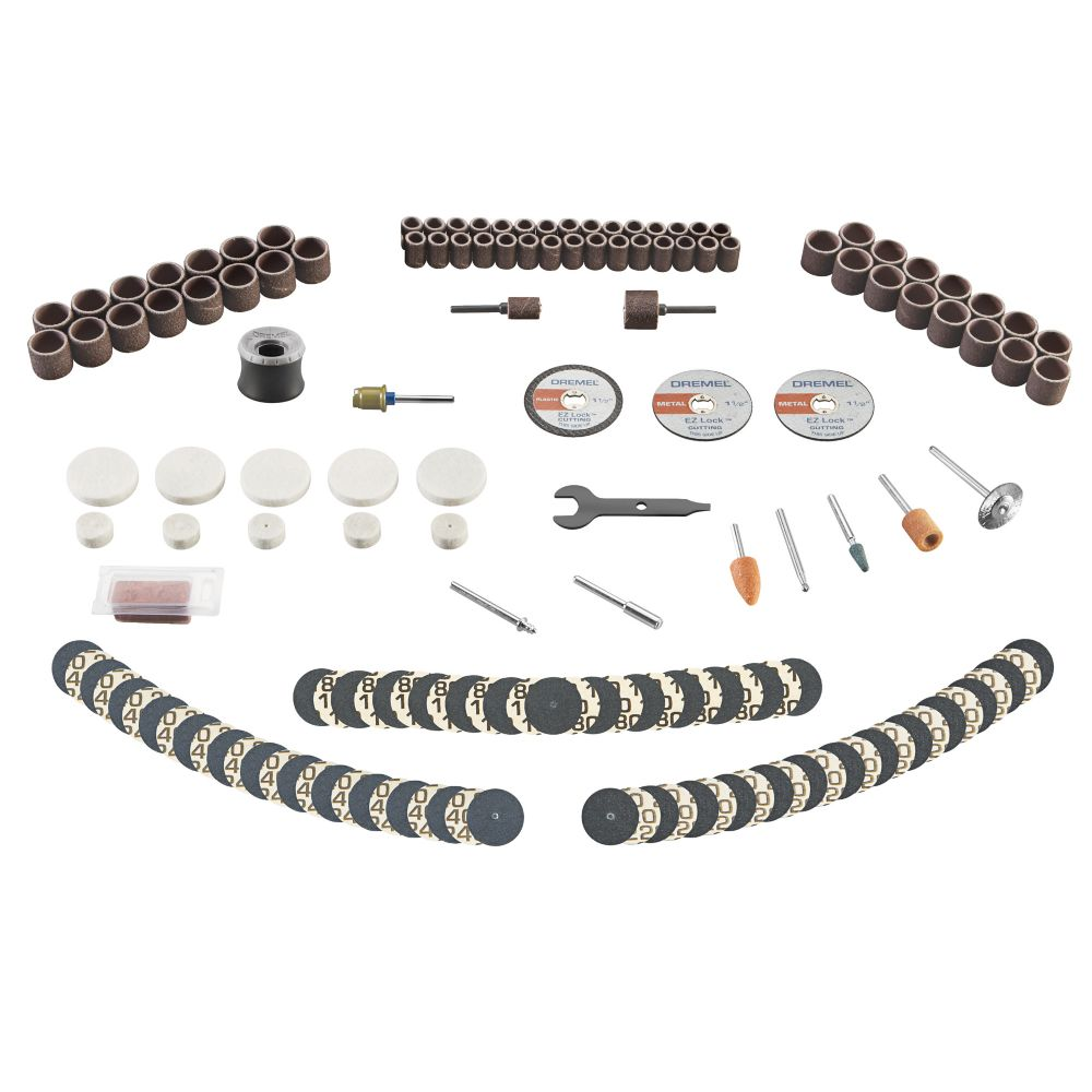 Dremel Dremel 715-01 160 Piece Rotary Accessory Kit