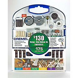 Dremel 710-03 Kit d'accessoires rotatifs 175 pièces