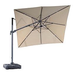 Velago 10 ft. Sabia Patio Square Cantilever Umbrella