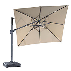 10 ft. Sabia Patio Square Cantilever Umbrella
