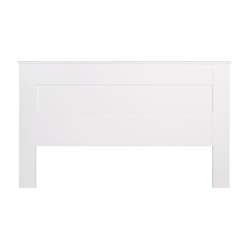 Prepac King Flat Panel Headboard - White