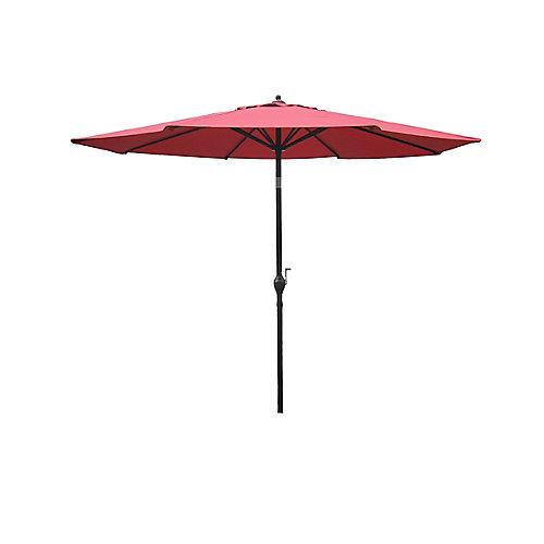 9 ft. Aluminum Market Umbrella, Spice Coral