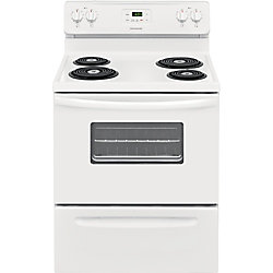 30-inch 4.8 cu. ft Freestanding Electric Range in White