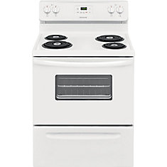 30 inch Freestanding Electric Range - White