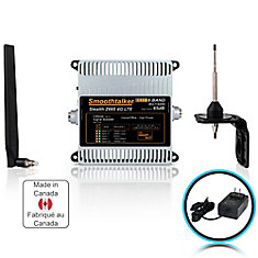 Stealth Z6 65dB 6-Band 3G 4G LTE High Power Building Booster Kit With Omni Directional Antennas