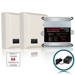 SmoothTalker Trousse de propulseur de bâtiment de puissance extrême de 6 GHz 3G 4G LTE Stealth X6 60dB