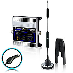 """SmoothTalker Mobile X6 50dB 6-Band 3G 4G LTE Extreme Power Wireless Booster With 14"""" Mag Antenna & CLA Pwr"""